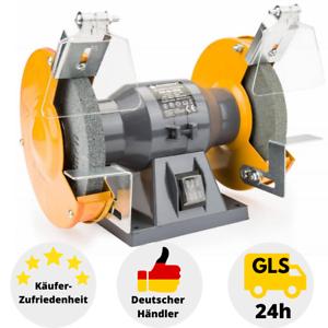 Doppelschleifer-1500W-Doppelschleifmaschine-Tischschleifmaschine-Schleifbock