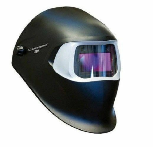 New 3M Speedglas 100 Black Welding Helmet with Auto-Darkening Filter 100V_VA