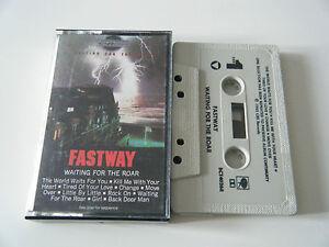 FASTWAY-WAITING-FOR-THE-ROAR-CASSETTE-TAPE-MOTORHEAD-CBS-1985