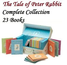 The World of Peter Rabbit The Complete Collection 23 Book Set Beatrix Potter new