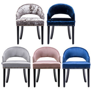 Miraculous Details About Small Armchair Fabric Velvet Vanity Tub Chair Dressing Table Stool Bedroom Seat Spiritservingveterans Wood Chair Design Ideas Spiritservingveteransorg