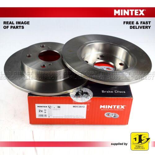 2X Mintex Arrière Freins à Disque MDC2612 SUZUKI ciaz 1.2 Swift IV SX4 S-Cross Vitara