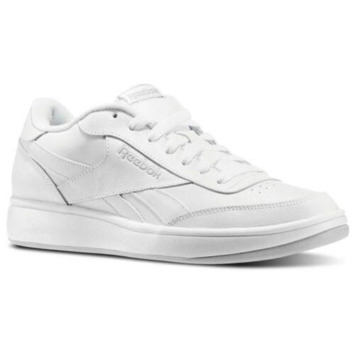 Reebok Royal Ace Men/'s Shoes US-White//Steel//Silver