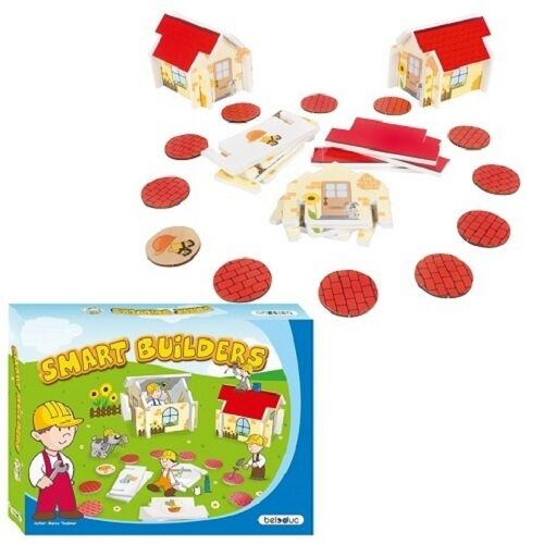 Beleduc 22520 Lernspiel Smart Builders