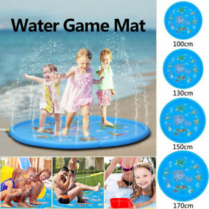 Inflatable Kids Cooling Play Water Mat Toys Outdoor Party