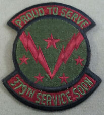 US Air Force Subdued Patch 379th Service Squadron