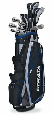 New 2015 Callaway Strata Plus Men's Golf Set with Bag, 16-Piece - RIGHT-HANDED