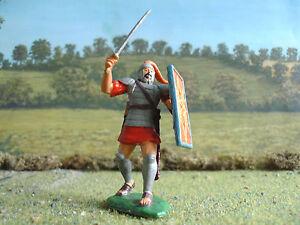 LOD Ancient Trojan wars Greek warrior advancing 1:32 painted