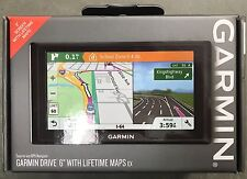 "Garmin Drive 6"" USA LM EX GPS Navigator Turn-By-Turn Directions*Brand New*Sealed"