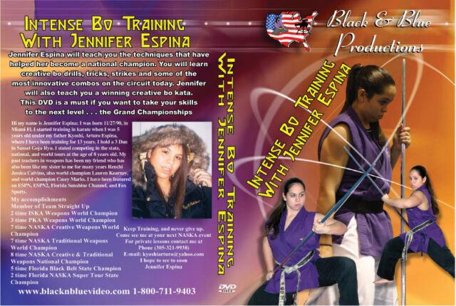 Intense Bo Training with Jennifer Espina