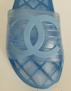 19P CHANEL ICONIC GLOSSY CC LOGO PVC