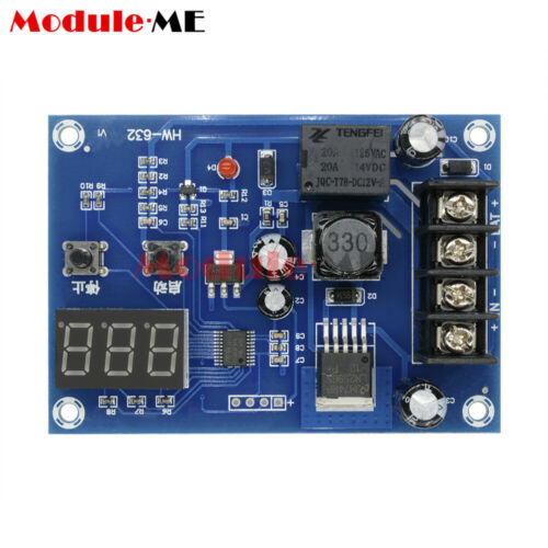 Lithium Battery Charge Control Protection Board LED Display XH-M603 DC12V-24V