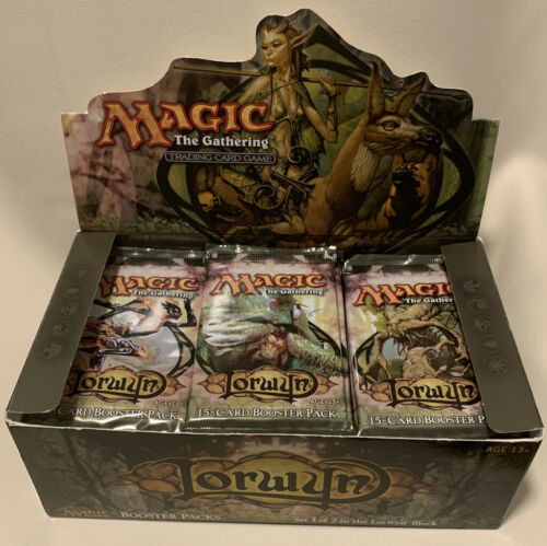 1x Lorwyn Sealed Booster Pack Fresh From New Open Box EDH Commander Vintage MTG