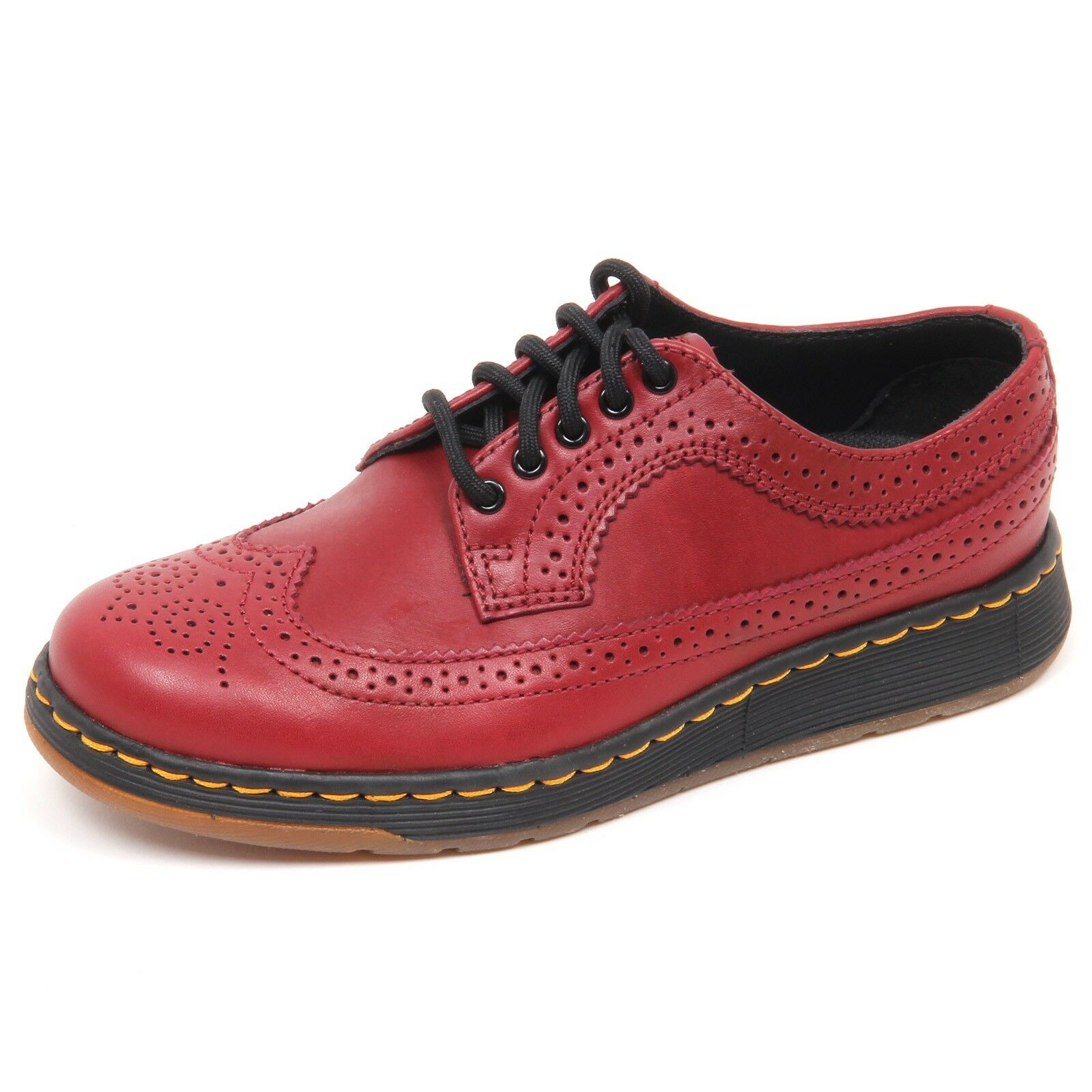 D6882 (without box) scarpa donna red DR. MARTENS shoe woman