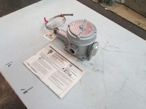 NEW United Electric Temperature Control Type E122 Mod #2BSB 30-250F 480 VAC