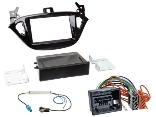 Kit de montage radio DIN autoradio pour Opel Adam à partir de 13 Corsa E à partir de 15 armoire