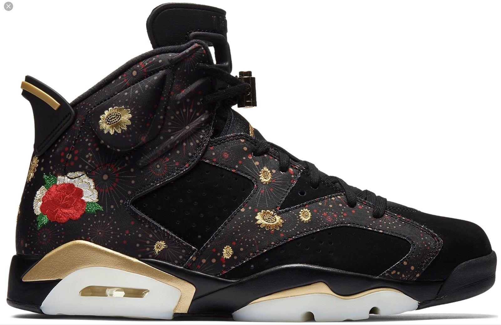size 40 9ff82 6f708 Nike Air Jordan 6 vi retro vi 6 CNY Año Nuevo chino comodo especial de  tiempo limitado ab6481