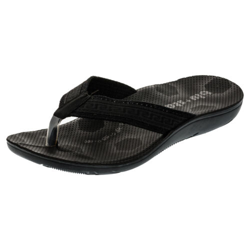 Messieurs Malibu Plage Chaussures Bride D/'Orteil Sandales Mules Vacances Loisirs
