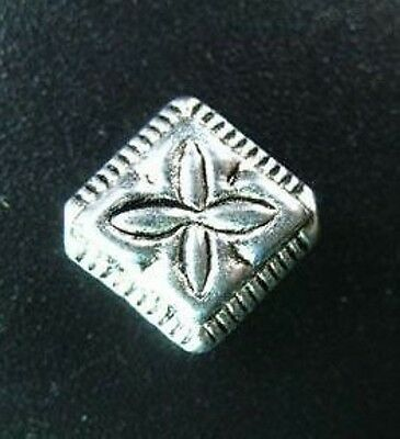 20pcs Tibetan Silver Cross Diamond Spacers Beads T59