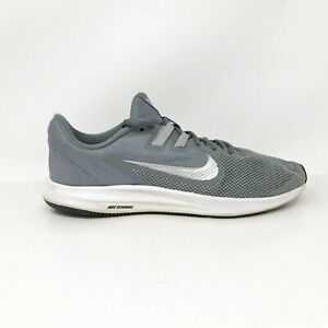 Nike-Mens-Downshifter-9-AQ7481-001-Gray-Running-Shoes-Lace-Up-Low-Top-Size-7-5