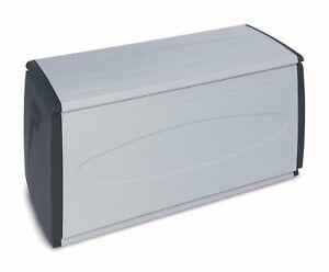 Contenitori Per Esterni In Plastica.Cassapanca Baule Contenitore Box Xl In Resina Plastica Da Esterno