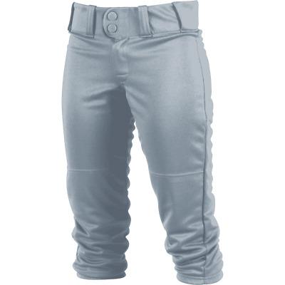 Black Rawlings Womens WRB150 Fastpitch Softball Pants White Navy Blue Grey