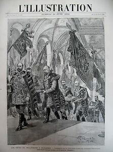 Hungary-Magyar-Budapest-Parties-the-Millennium-Emperor-Francois-joseph-1896