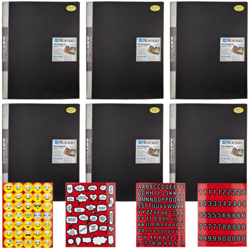 Itoya Arte Cartera Almacenamiento/Pantalla Libro Álbum 18x24 Manga 24 para vistas de 48