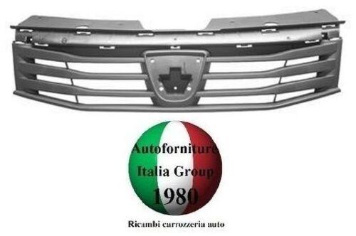 GRIGLIA RADIATORE NERA COFANO ANTERIORE MASCHERA DACIA SANDERO 08/>12 2008/>2012