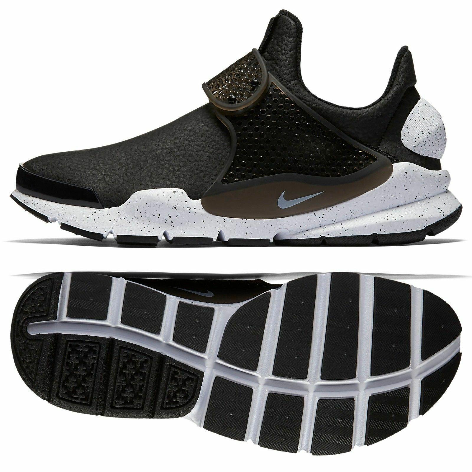 9bca10405 Nike Sock Dart Premium Women s Running Sneakers Sneakers Sneakers Black  White 881186-001 New w