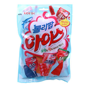 Lollipop Ice Candy 165g Famous Korean Ice Cream Flavor And Shape Candy 741011486055 Ebay