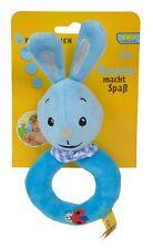 Simba Kikaninchen Ringrassel Blauer Hase Babyspielzeug Greifling Kika NEU Blau