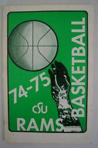 Vintage-Basketball-Media-Press-Guide-Colorado-State-University-1974-1975