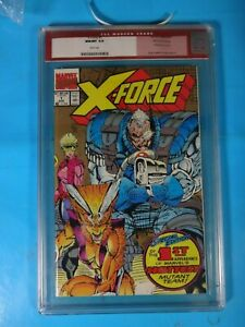 CGC-Comic-graded-9-8-Marvel-X-force-2nd-print-1-Key-issue