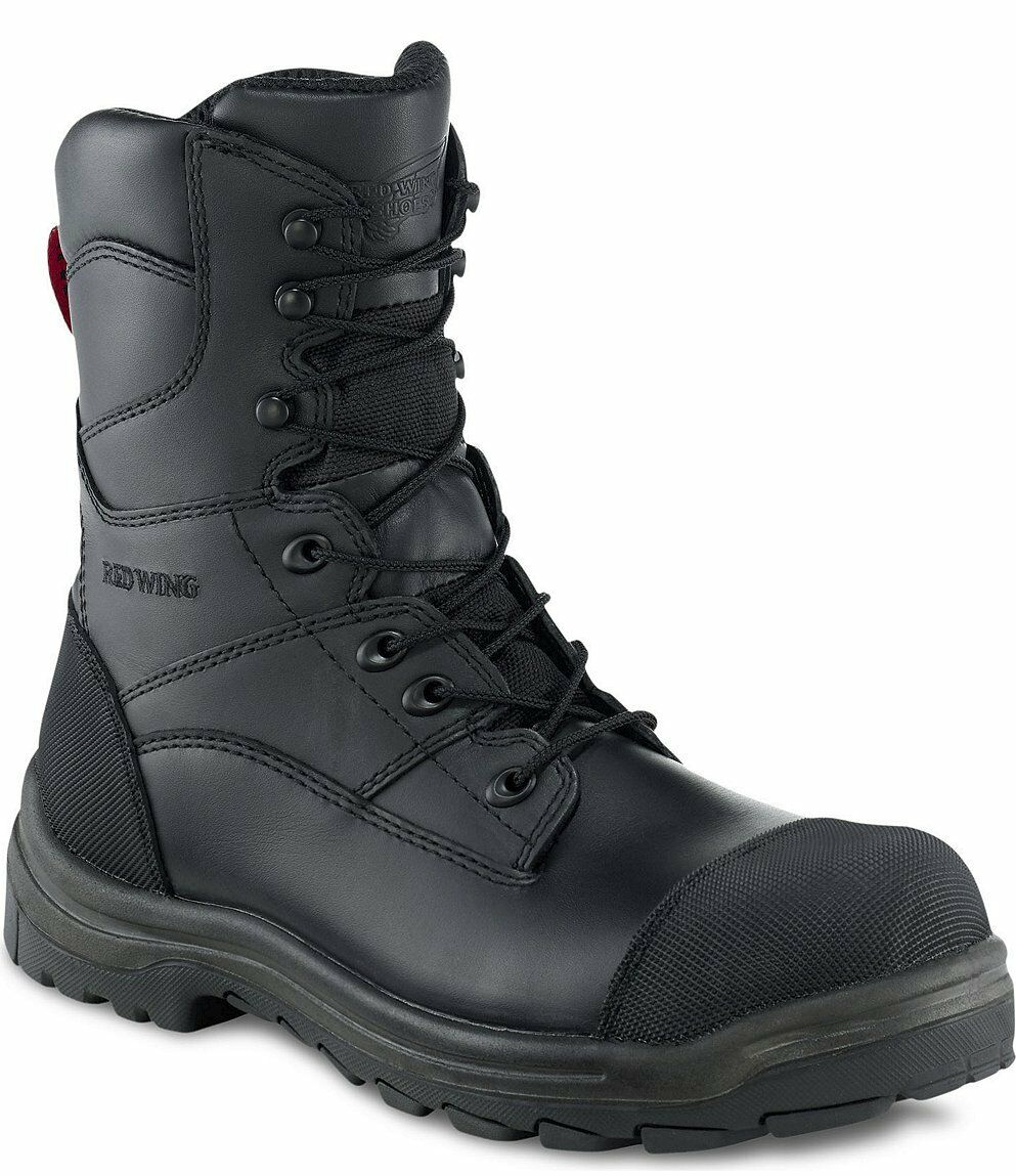 Red Wing 3288 Mens Black 8 Inch Safety Boot Vibram Sole EN345 S3 Water Risistant