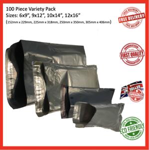 Gris fuerte 200 X bolsas de correo de envío * 9 X 12