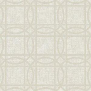 Kiss Creme Goldfolie Geometrische Tapete Arthouse 903205 - Metallisch Elemente
