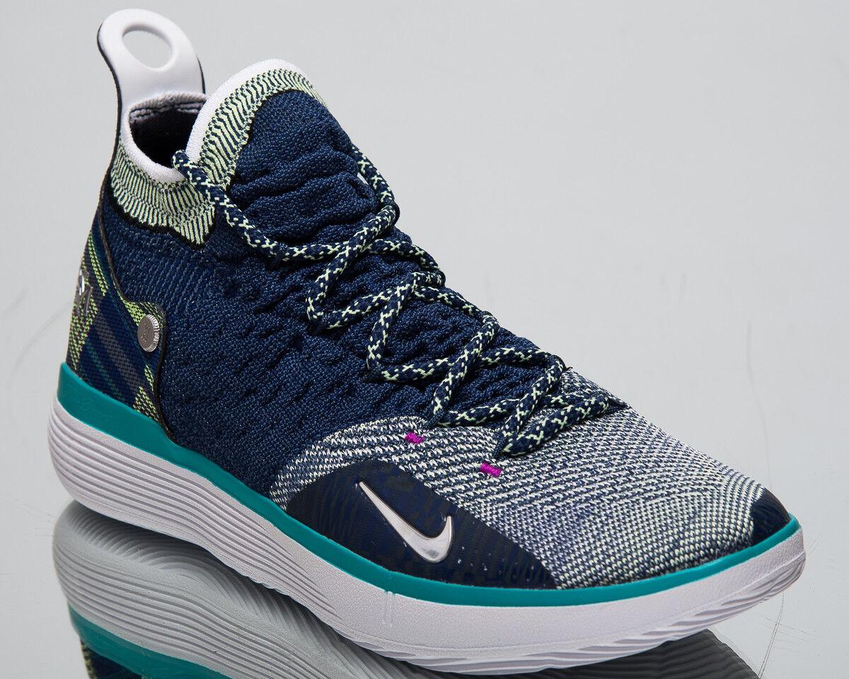 Nike 11 BHM  KD NERO  History Month Uomo Nuove Scarpe Da Basket Blu BQ6245-400