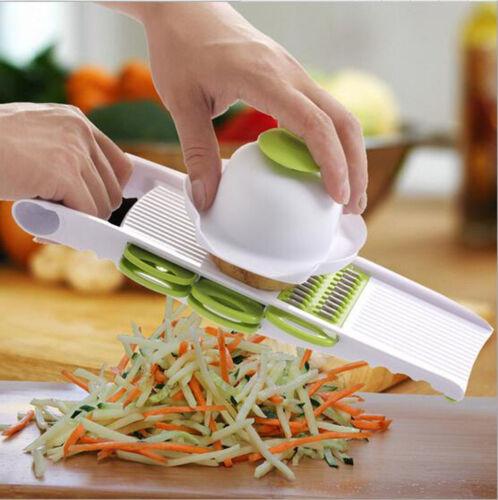 Useful Vegetable Potato Carrot Cucumber Slicer Peeler Cutter Kitchen Tool 5 in 1