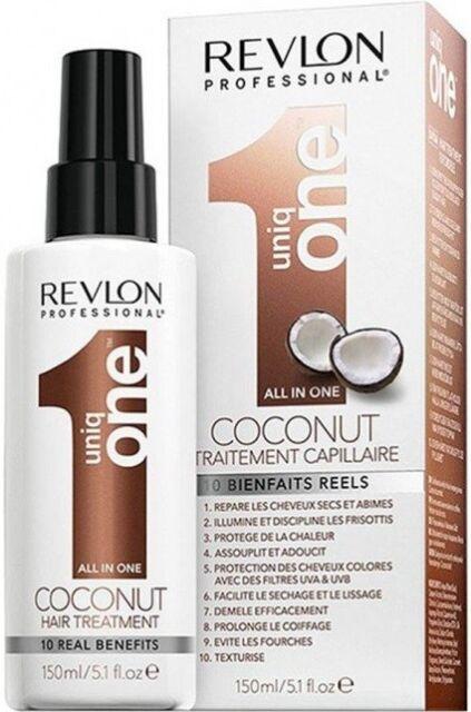REVLON COCONUT ALL IN ONE HAIR TREATMENT --- UNIQ 1 --- 150ML FREE SHIPPING