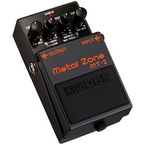 death metal zone guitar pedal hard rock effect foot switch boss mt 2 distortion 761294020937 ebay. Black Bedroom Furniture Sets. Home Design Ideas