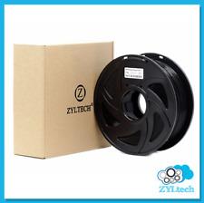 Zyltech 3D Printer Filament PLA 1.75 mm 1 Kg/2.2 Lbs - Black