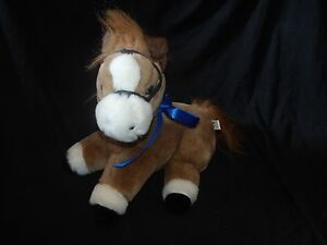 Kentucky Horse Park Plush Vintage Brown White Made in Korea *FLAW*