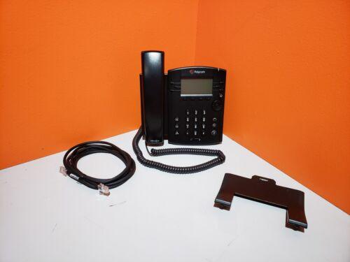 Polycom VVX 301 6 Lines PoE SIP VoIP Business Media Phone Refurbished