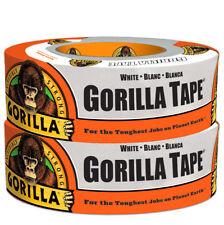 """Gorilla 6025001 Duct Tape 1.88"""" X 30 Yd. White"""