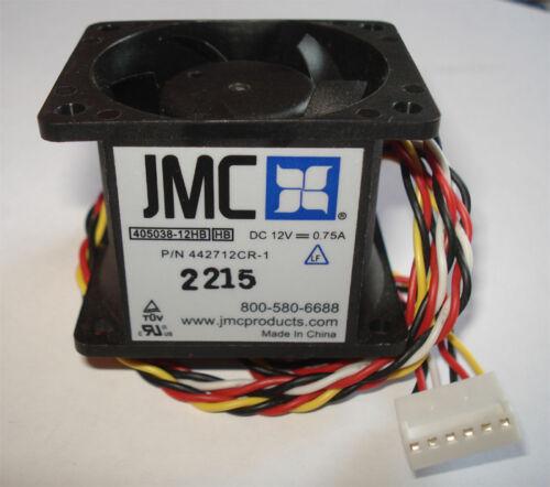 P//N 442711CR-1 JMC 405038-12HB 6 Pin Dual Blade Case Fan Rackmount Servers NEW