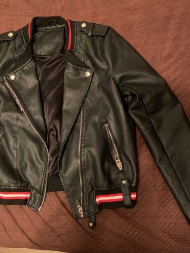 BLANK NYC  moto jacket Black Leather Moto Jacket