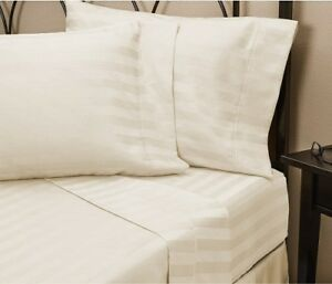 LUXURIOUS BEDDING SET ALL USA SIZE BURGUNDY SOLID COTTON 800-TC 15 INCH DEEP