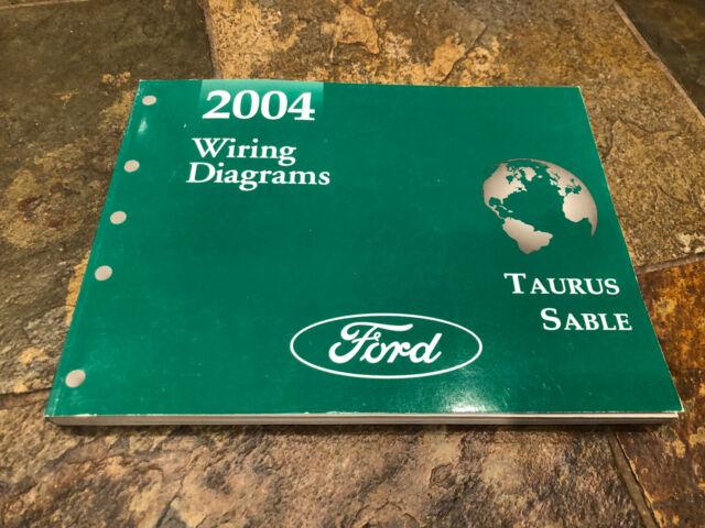 2004 Ford Taurus Mercury Sable Wiring Diagrams Electrical
