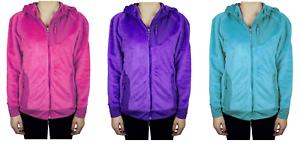NEW-SNOZU-Girl-039-s-Sherpa-Hooded-Jacket-VARIETY